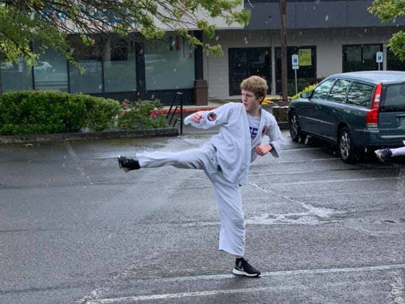 Adults martial arts training in Renton