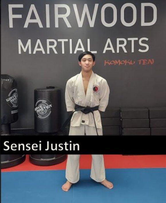Justin1, Fairwood Martial Arts